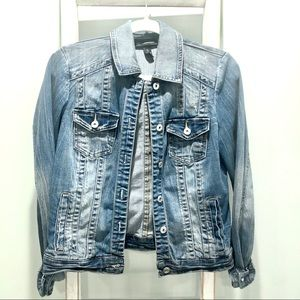 INC International Concepts Jean Jacket